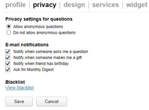 askfm privacy